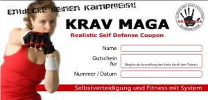 KRAV MAGA Graz Gutschein for Women